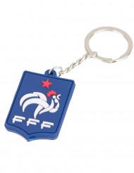Llavero silicona azul Francia FFF™