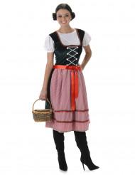 Disfraz de Bávara mujer largo