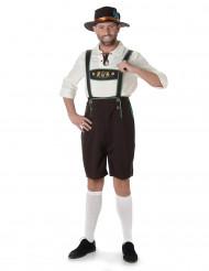 Disfraz de Bávaro para hombre marrón