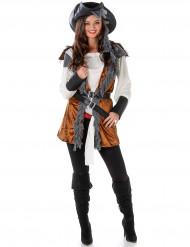 Disfraz de Pirata rebelde mujer