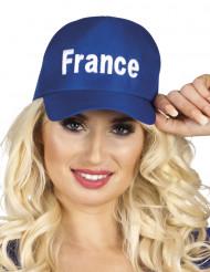 Gorra azul Francia adulto