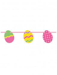 Guirnalda huevos de Pascua