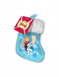 Calcetín satinado Frozen™ Navidad