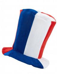 Sombrero de copa musical hincha Francia