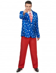 Disfraz Mr América hombre