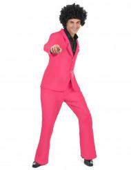 Disfraz disco rosa adulto