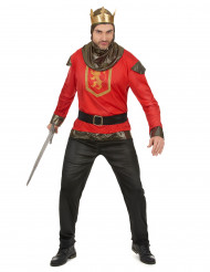 Disfraz de caballero dragón rojo para hombre