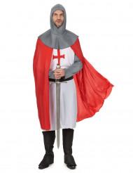 Disfraz de caballero cruzado hombre