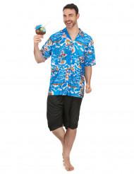 Disfraz de turista hawaiano hombre