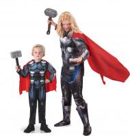Disfraz de pareja Thor™ padre e hijo