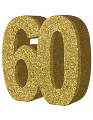 Decoración de mesa 60 años