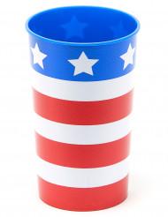 Vaso USA plástico rígido reutilizable