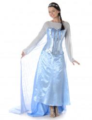 Disfraz reina del hielo para mujer