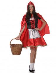 Disfraz de caperucita roja mujer