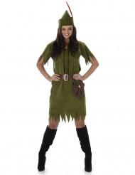 Disfraz mujer del bosque