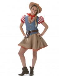 Disfraz de cowgirl mujer