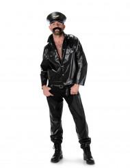 Disfraz de motorista hombre