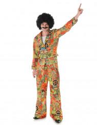 Disfraz de hippie traje para hombre
