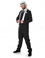 Disfraz de gánster traje rayado hombre