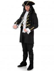 Disfraz de pirata negro hombre