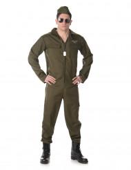 Disfraz de piloto de caza hombre