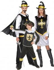 Disfraz familia Mosqueteros