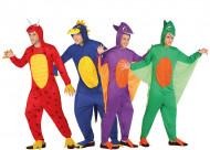 Disfraz de grupo dinosaurios adulto