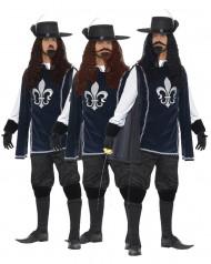 Disfraz de grupo 3 mosqueteros