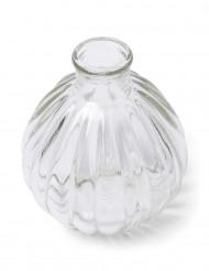 Mini florero de vidrio retro 10 cm