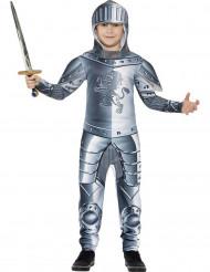 Disfraz armadura de caballero niño