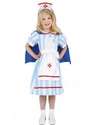 Disfraz enfermera vintage niña