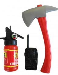 Kit accesorios de bombero niño