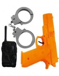 Kit accesorios policía niños
