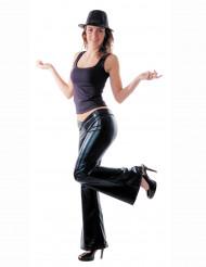 Disfraz disco negro mujer