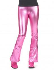 Pantalón disco rosa fucsia mujer