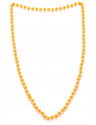 Collar perlas naranjas adulto
