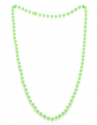 Collar perlas verdes adulto