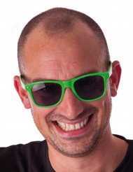 Gafas blues fluorescente verde adulto