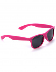 Gafas blues rosa fluorescente adulto