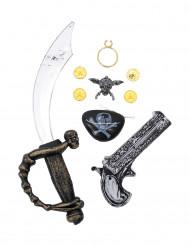 Kit accesorios pirata para niño