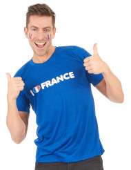 Camiseta I love France adulto