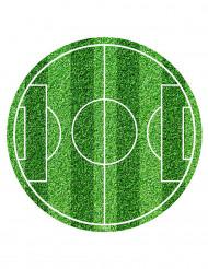 Disco de azúcar campo de fútbol