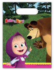 6 Bolsas regalo Masha y el oso™