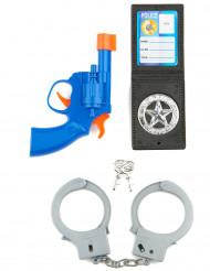 Kit accesorios policía niño