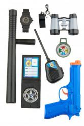 Kit accesorios policía para niños