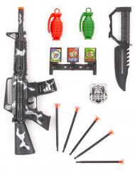 Kit accesorios de soldado niños