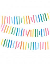 Guirnalda flecos multicolores 3 m
