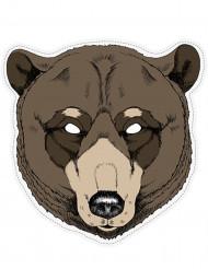 Máscara papel oso