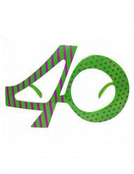 Gafas edad 40