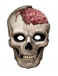 Máscara cráneo papel